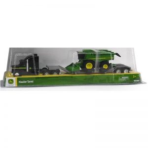 jd 164 Farm Semi with Combine 800x