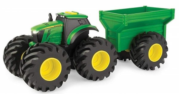 jd monster treads tractor wagon1