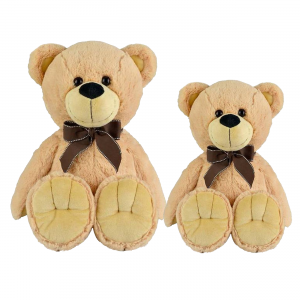 BUDDY BEAR BEIGE PLUSH GROUP