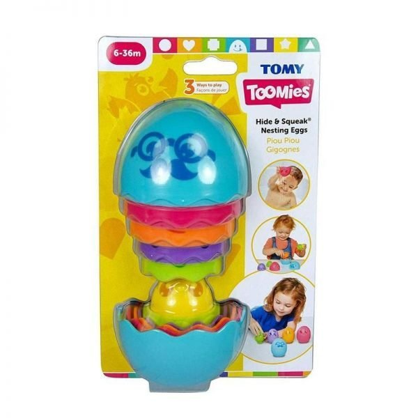 tomy hide and squeak nesting