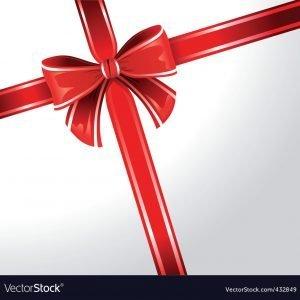 gift wrap ribbon vector 432849
