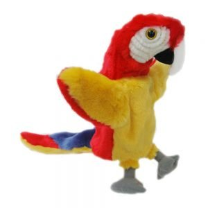 KOR TR PUPPETS Hand Puppet Red Parrot