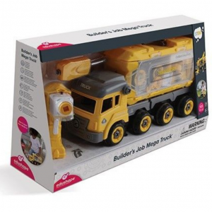 mega builders truck boxed